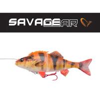 SAVAGE GEAR - Nástraha 4D Line thru perch 23cm / 145g - Albino