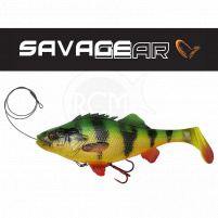 SAVAGE GEAR - Nástraha 4D Perch shad 17,5cm / 67g - Firetiger
