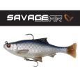 SAVAGE GEAR - Umělá Nástraha 3D Pulse tail roach s háčkem a trojháčkem 10cm / 17,5g - 2ks