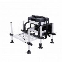 Flagman sedačka Match Competition SeatBox with Foot Plate (DKR017)