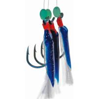 ICE Fish - Gumička modrá vel : 5/0  3ks