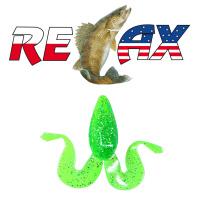 Relax - Gumová nástraha Banjo Frog 3 Barva - L030 - blister 2ks - 9cm