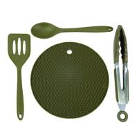 Trakker Products Trakker Silikonové, kuchyňské nádobí - Armolife Silicone Utensil Set