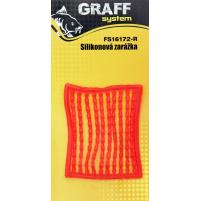 GRAFF - Zarážky silikonová - červená