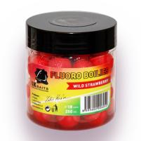LK Baits Fluoro Boilies Wild Strawberry