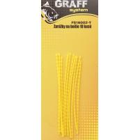 GRAFF - Zarážky na boilie - žlutá