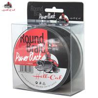 Hell-Cat Splétaná šňůra Round Braid Power Black, 200m