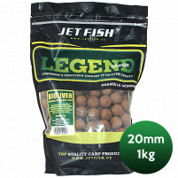 JET FISH - Boilie Legend 20mm 1kg - protein bird + winter friut