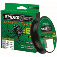 SPIDERWIRE - Šňůra Stealth smooth 8 - 0,06mm - 6,6kg - 150m - Moss green