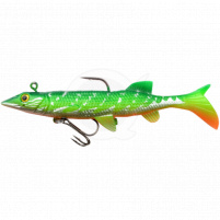 SPRO - Powercatcher Super Natural Baitfish s jigem a háčkem  12cm - Pike Toxic