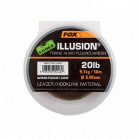 FOX - Fluorocarbon Illusion leader 0,40mm 20lb 50m