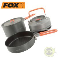 Fox 3-dílná sada nádobí Cookware Set