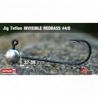 Red Bass - Jig koule Teflon invisible 4/0