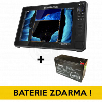 Lowrance - Echolot HDS-12 LIVE with Active Imaging 3-in-1 (ROW) + Baterie ZDARMA !