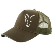 FOX - Kšiltovka Trucker cap green/silver