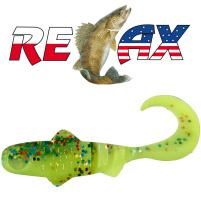 Relax - Gumová nástraha Super Banjo 3 - Barva L075 - 5,5cm - Blister 5 ks
