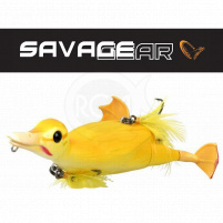 SAVAGE GEAR - Wobler 3D Suicide duck, floating / 10,5cm / 28g - yellow
