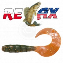 Relax - Gumová nástraha Twister 4 - Barva TS033 - blister 5ks - 8cm