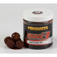 Mikbaits - Boilie v dipu BigB 250ml / 20mm - Broskev Black Pepper