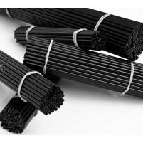 RCM - Plastová trubička 1,2m - černá 1ks