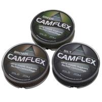 Gardner Olověná šňůrka Camflex Leadcore Camo Brown 20m