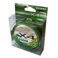 SHIRO - Pletená šňůra zelená - 150m
