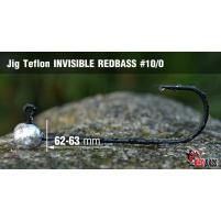 Red Bass - Jig koule Teflon invisible vel. 7/0 Balení 5ks