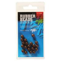 Giants fishing Gumové kuličky Rubber Beads Hnědé