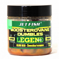 JET FISH -  Boosterované Dumbles Legend 14mm - 120g Biosquid + A.C. Biosquid - VÝPRODEJ