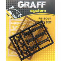 GRAFF - Zarážky Stiff - hnědá