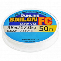 SUNLINE - Fluorocarbon SIGLON FC 50m - 0.490mm