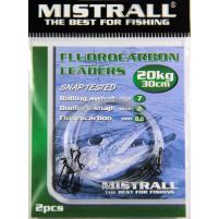 MISTRALL- Návazec fluocarbon - 30cm 20kg