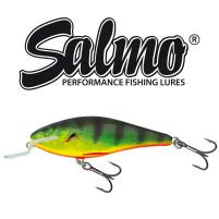Salmo - Wobler Executor shallow runner 7cm - Real Hot Perch