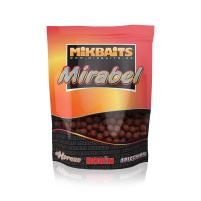 Mikbaits - Boilie Mirabel 250g 12mm - Půlnoční pomeranč