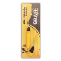 GRAFF - Jehla s vrtákem plast žlutá