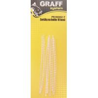 GRAFF - Zarážky na boilie - bílá