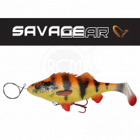 SAVAGE GEAR - Nástraha 4D Perch shad 17,5cm 67g - Albino