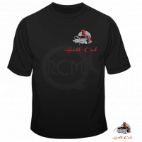 Hell-Cat - Tričko Černé Classic vel.S