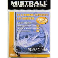 MISTRALL- Návazec fluocarbon - 40cm 20kg