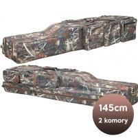 SURETTI - Pouzdro na pruty dvoukomorové Camo - 145cm