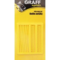 GRAFF - Zarážky MIX carp - žlutá