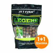 JET FISH - Boilie LEGEND 900g / 16mm Winter fish + mystic spice 1+1 ZDARMA!