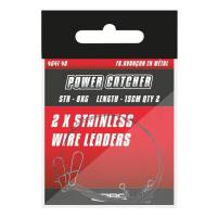 SPRO - Ocelové lanko s obratlíkem a karabinou - PC wire Leader - 12Kg / 30cm 2ks