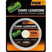 FOX - Olověná šňůra Camo ledcore 50lb(22,7kg) 25m camo