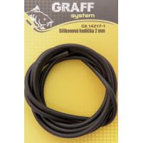GRAFF -Silikonová hadička černá
