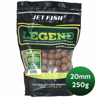 JET FISH - Boilie Legend 20mm 250g - biosquid + A.C. biosquid