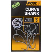 FOX - Háčky Arma point CURVE SHANK vel.4