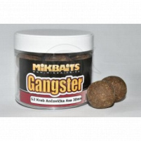 Mikbaits - Extra hard Boilie Gangster 300ml / 24mm - G2 Krab Ančovička Asa
