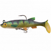 SPRO - Powercatcher Super Natural Baitfish s jigem a háčkem 10cm - Perch Dull