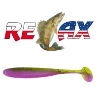 Relax - Gumová nástraha Bass 3 - Barva L541 - blister 4ks - 8,5cm